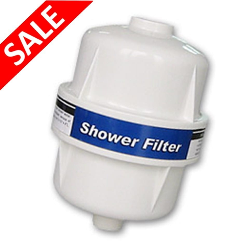 cleanwater inline shower filter clean water. Black Bedroom Furniture Sets. Home Design Ideas