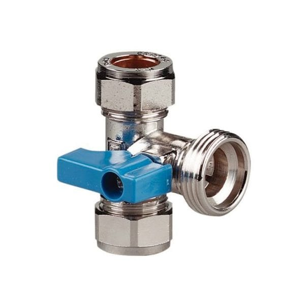Stainless steel T piece valve - clean water