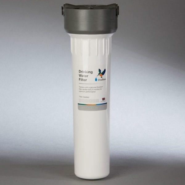 Supercarb water filter plus housing